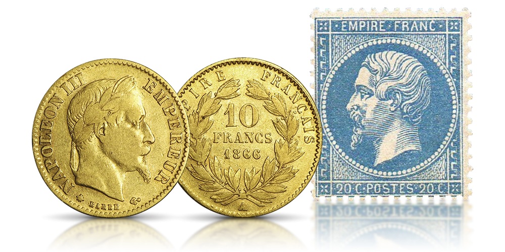 wiek-zlota-kolekcja-zlotych-monet-napoleon-iii
