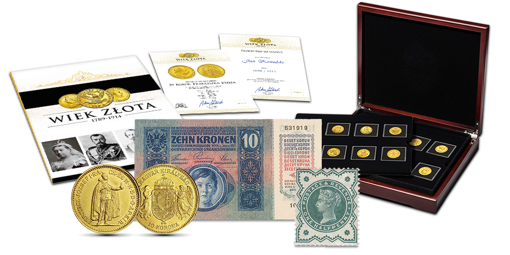 wiek-zlota-kolekcja-zlotych-monet-zestaw