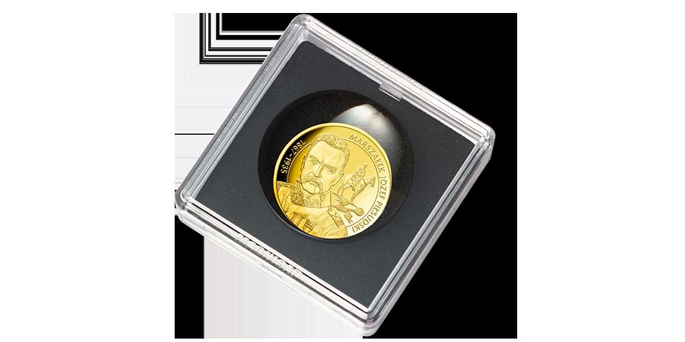 Wielcy Polacy w złocie - kapsuła ze szkłem powiększającym