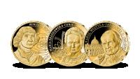 Pamiątkowa kolekcja w hołdzie największym rodakom uszlachetniona 24-karatowym złotem