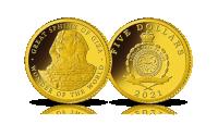 Wielki Sfinks na monecie z czystego złota