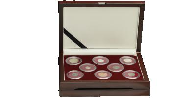 Wojna 30-letnia Unikalny zestaw 8 monet z czasów konfliktu!