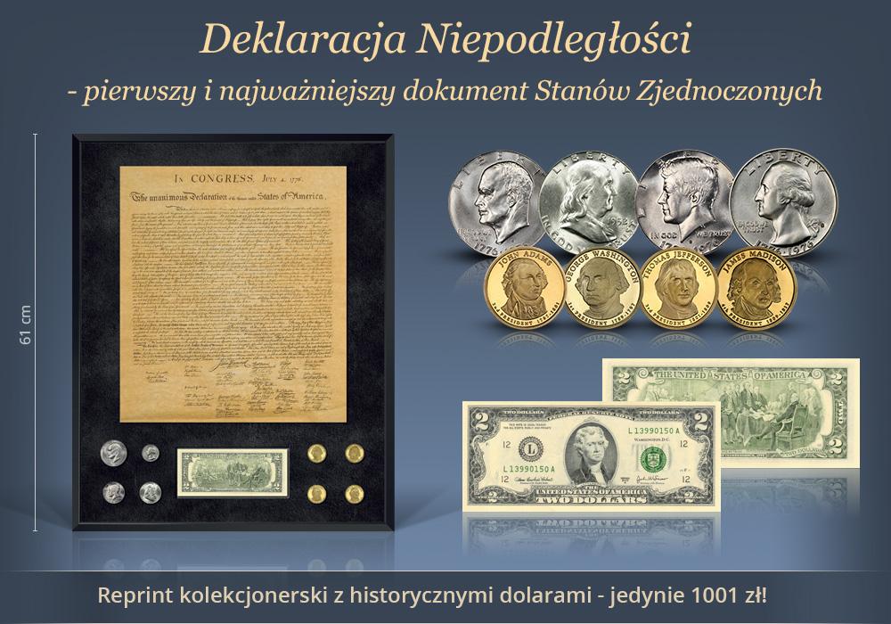 Najbardziej unikatowe archiwum numizmatyczne historii USA