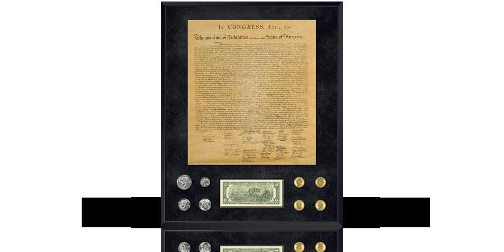 DeklaracjaNiepodległości USA - kolekcjonerska kopia