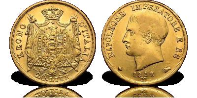 Złote 20 lirów Napoleona Bonaparte