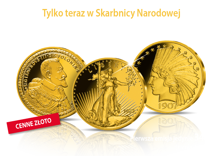 Najcenniejsze monety świata w złocie